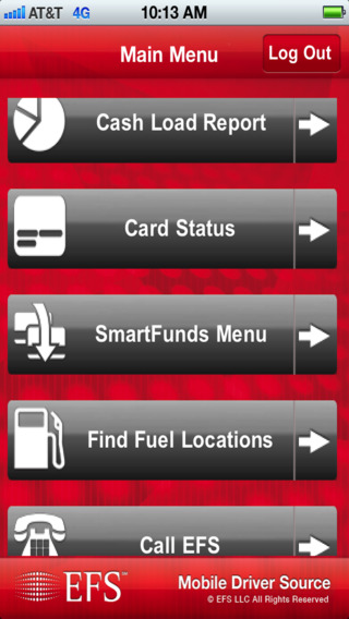 EFS Mobile Driver Source