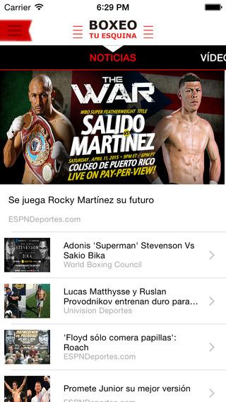 Boxeo Tu Esquina