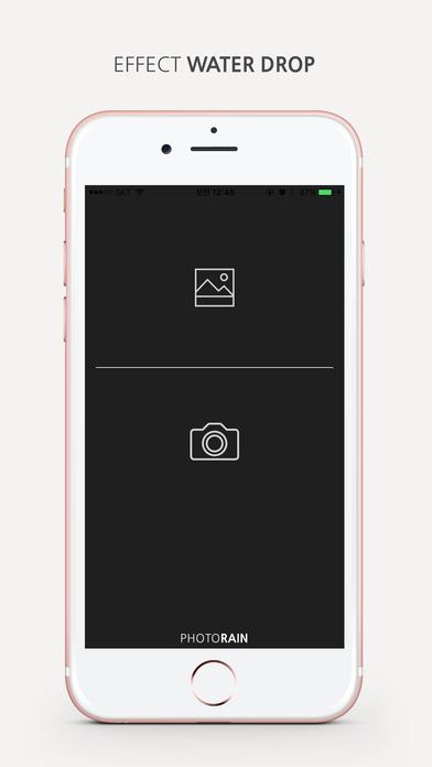 photoRainHD iPhone Screenshot 1