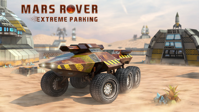 Mars Rover Extreme Parking - Space Simulator