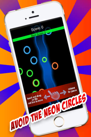 Avoid the Circles - Follow the path screenshot 1