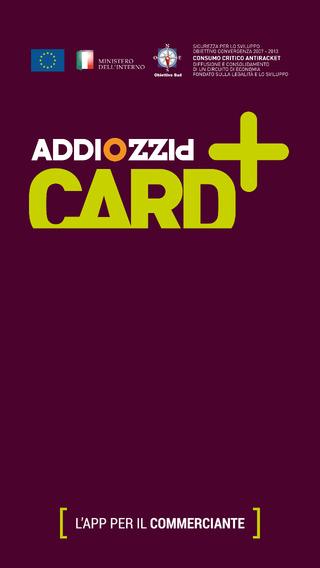 Addiopizzo CARD
