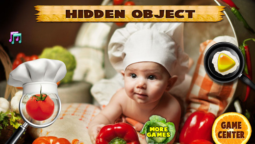 New Baby Born and Messy Kitchen Hidden Objects