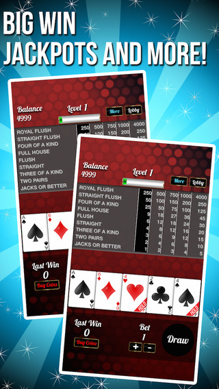 Super Poker Casino with Big Roulette Wheel Gold Slots and More