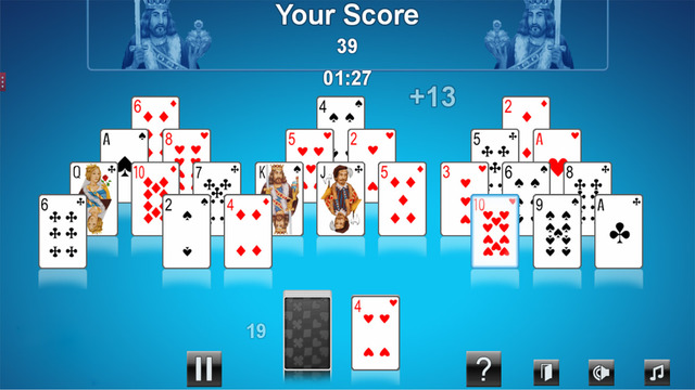 New Pyramid Solitaire Express Game