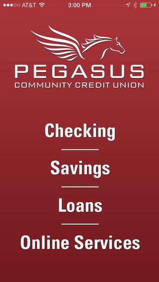 Pegasus Community Credit Union - Mobile Banking App