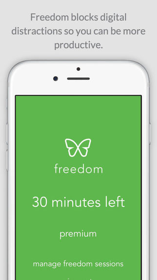 Freedom - Reduce Distractions
