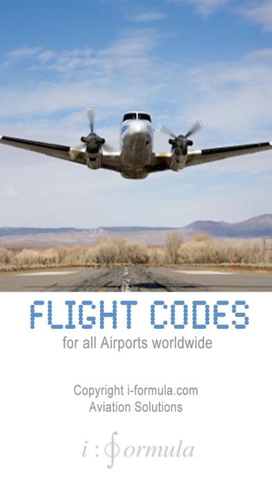 flight codes iPhone Screenshot 1