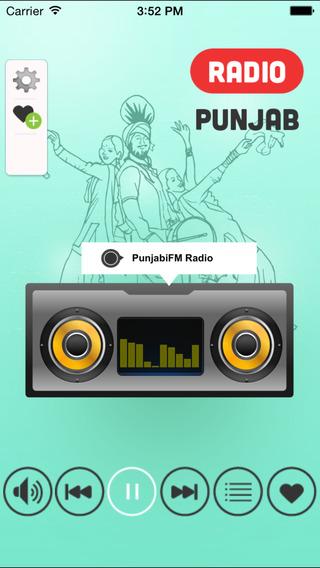 Punjab FM Radio - Top Punjabi Music Stations with Bhangra Gurbani Devotional and New Super Hit Songs