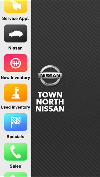 Town North Nissan Dealer App