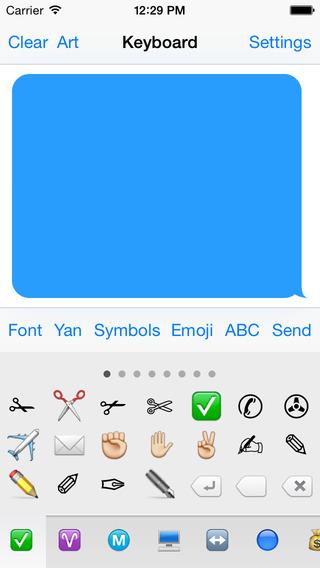 Symbol Keyboard Free - Unicode Symbols Characters