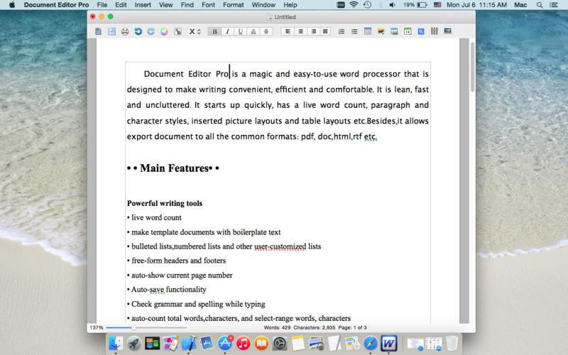 Document Editor Pro Screenshot - 1