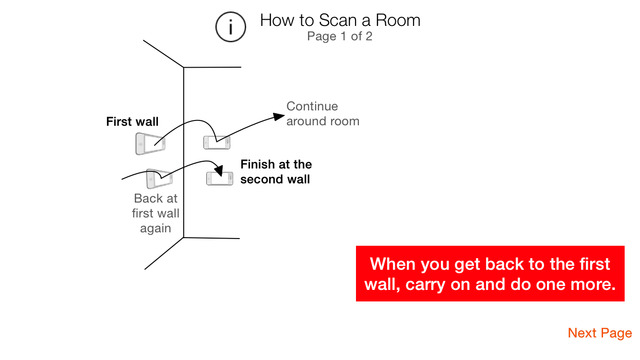 RoomScan - The app that draws floor plans by itself