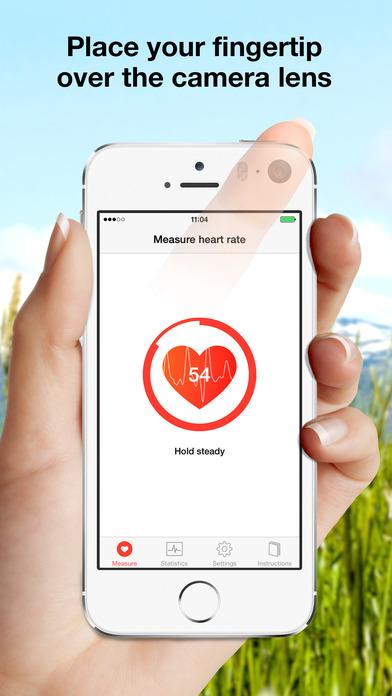 Sleep Cycle heart rate Screenshot