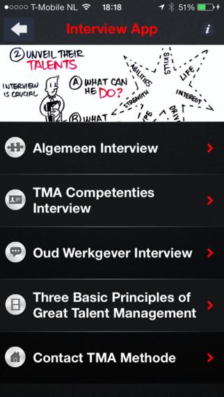 Job Interview App