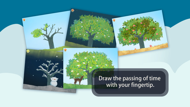 Free Today: Season of Tree : Story of Animal Friends in Forest - a delightful kids app