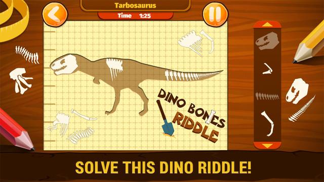 Dino Bones Riddle Prof