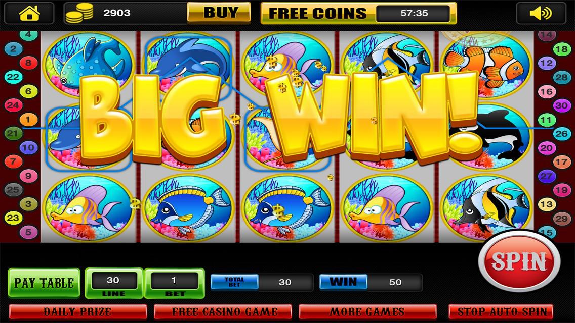App shopper big adventure of fish slots top gold for Fish slot game