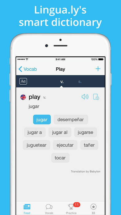 Lingua.ly – Learn a language. Make it your own. Screenshots