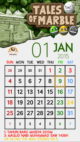 Kalender Indonesia 2015