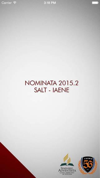 NOMINATA SALT - IAENE
