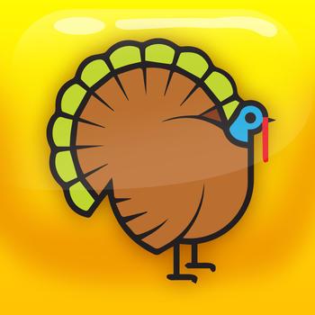 Thanksgiving Fight - Indians VS Turkeys LOGO-APP點子