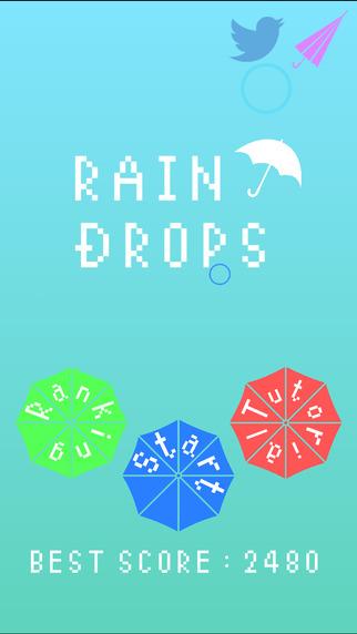レインドロップ〜落ちる雫を傘で防げ!〜
