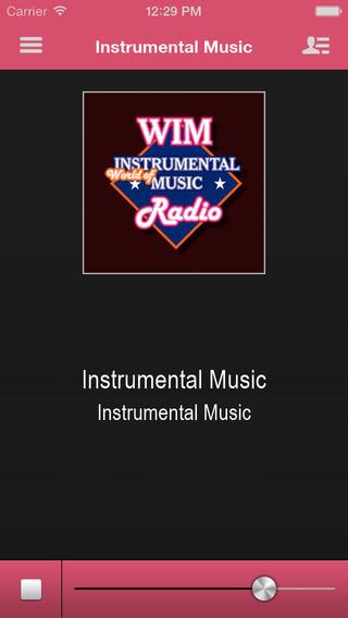 Instrumental Music App