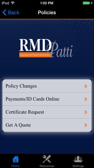 RMD Patti Insurance
