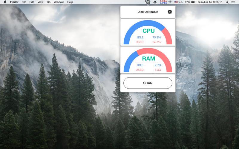 Disk Optimizer Screenshot - 2