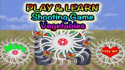 Vegetables Preschool Learning Experience Target Game