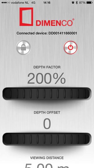 Dimenco Display Control Tool
