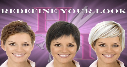 Hair Style Redesign Free-Take a Selfie And Create A New You
