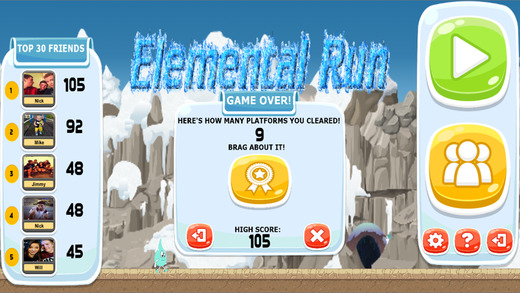 Elemental Run