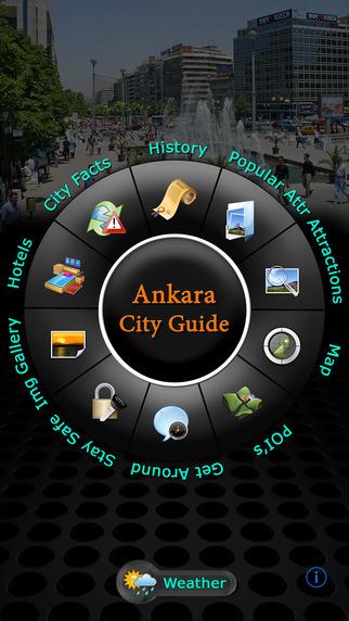 Ankara Offline Map Travel Guide