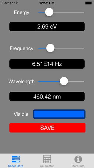 Visualizing Planck Einstein Wavelength Equation Free