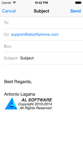 iQuickMail iPhone Screenshot 5