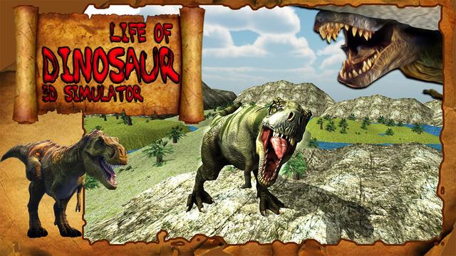 Life of Dinosaur 3D Simulator