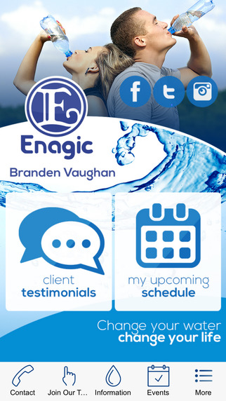 Enagic - Branden Vaughan