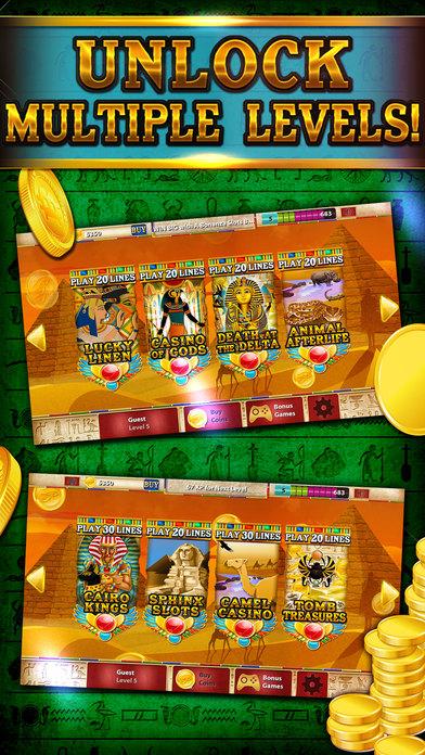 Screenshot 3 Слоты — Сфинкс Путь: Кузня Египет экспедиции казино Славы