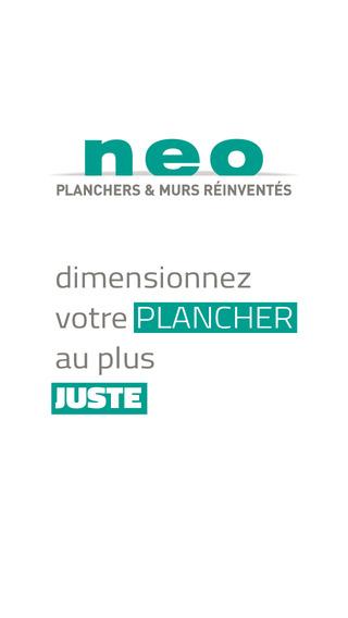 Plancher Neo - Dimensionnez votre plancher