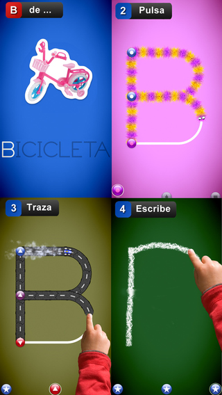 Aprende a escribir letras y números - LetterSchool Gratis