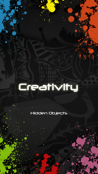 Creativity - Creative hidden objects game