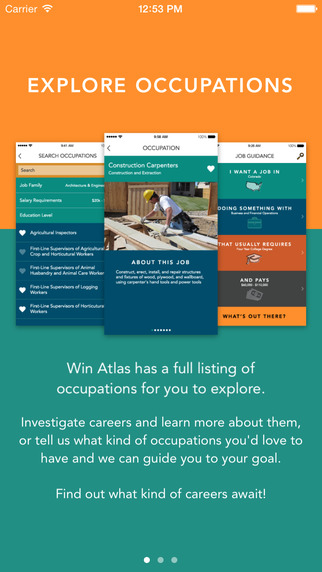 WIN Atlas: Career Planning Exploration