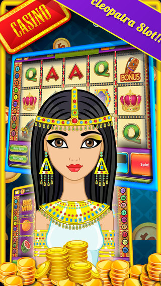 'Ace Cleopatra Slot-Machine - A Nile Casino Game of fate with Mandalay Gambling and Daily Free Spins
