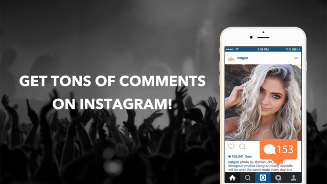 Get Comments For Instagram - Boost 5000 More Free Comments Real Followers