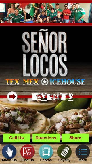 Señor Locos Tex-Mex Restaurant Icehouse in Plano T