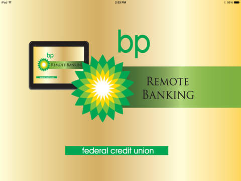 BPFCU Mobile Banking for iPad