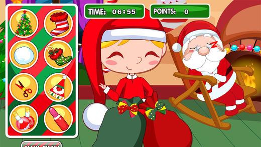 Christmas Slacking Games Do funny tricks while Santa Claus sleeps