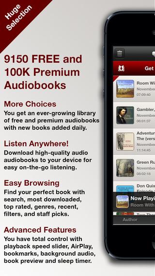 Audiobooks HQ – 9 150+ FREE 100 000 Premium Audio Books